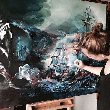 Work in Progress Sea Battle Sofie Krete