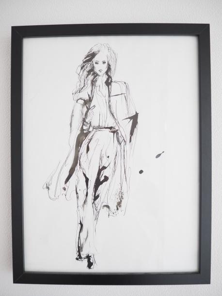 Fashion Sketch Ink Sofie Krete